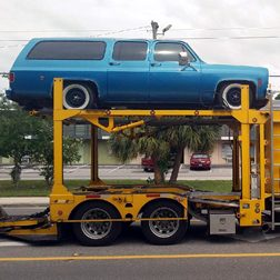 Chevrolet op transport