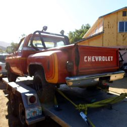 Chevrolet pickup uit Amerika